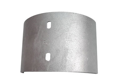 50cm High Wall Cast Aluminium Downpipes Anodizing Treatment With Aluminum Plate
