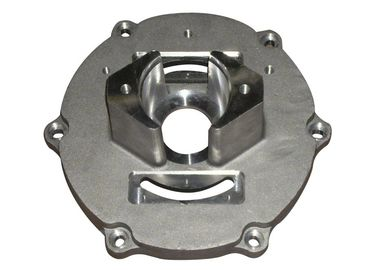Roughness Ra10 Aluminum Motor Housing AISI DIN With Brushing Polishing Surface