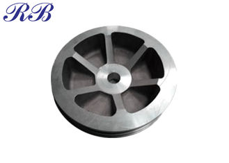 0.1kg-100kg Precision Investment Casting Pulley Custom Dimension / Size