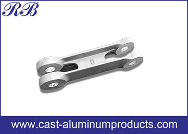 Low Pressure Die Casting Cast Aluminum Products Door Link 371x66x80mm